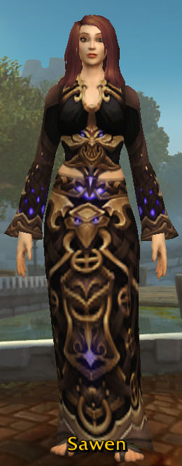Tormented Demonsoul Robes