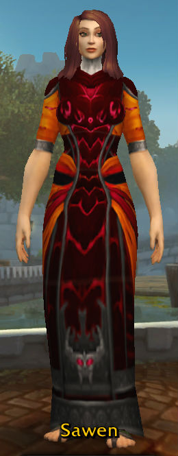 Vermillion Robes of the Dominant
