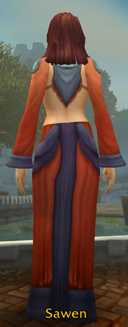 Double-Stitched Robes back