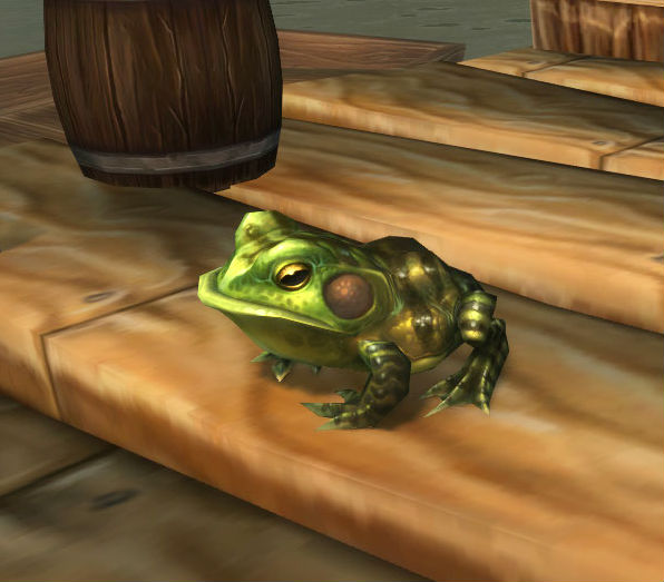 Gently Squeezed Toad