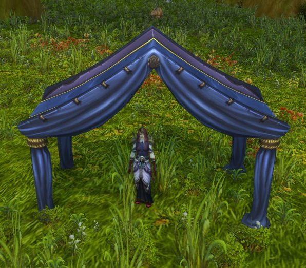 items.Fine Blue and Purple Tent