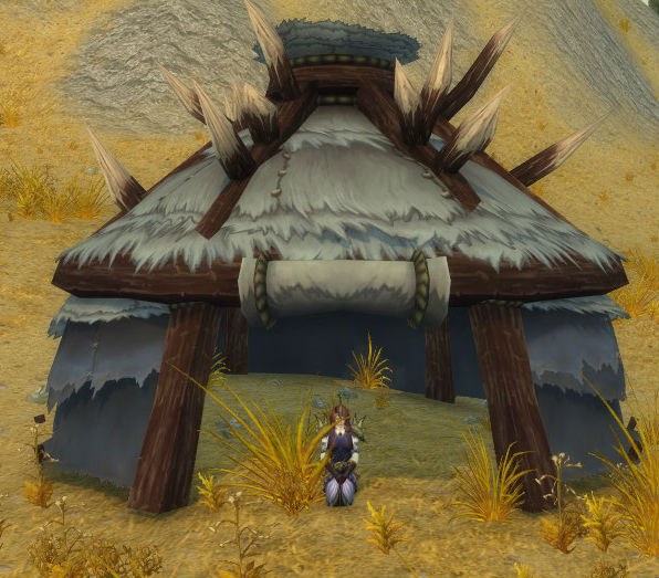 Nomad's Spiked Tent